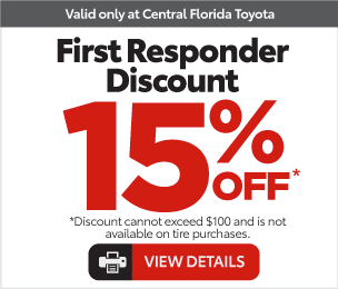 Service Specials at Central Florida Toyota - 4 Wheel Alignment Special View Details $99.99*