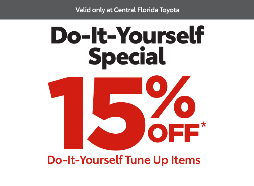 Central Florida Service Coupon - do-it-yourself special 15% Off*