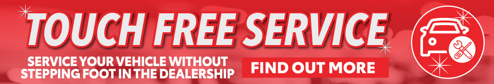 TOUCH FREE SERVICE Now at Central Florida Toyota