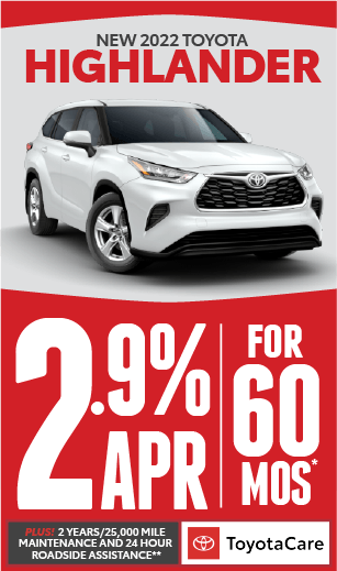toyota highlander offer