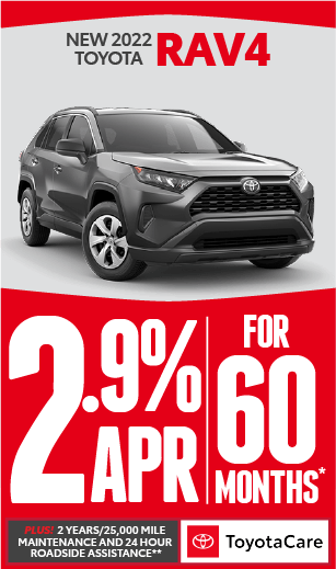 toyota rav4 APR 1.9% offer*