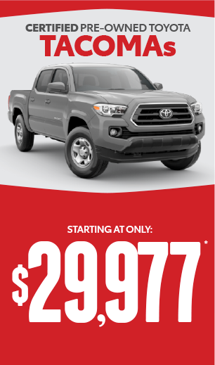 toyota tacoma offer