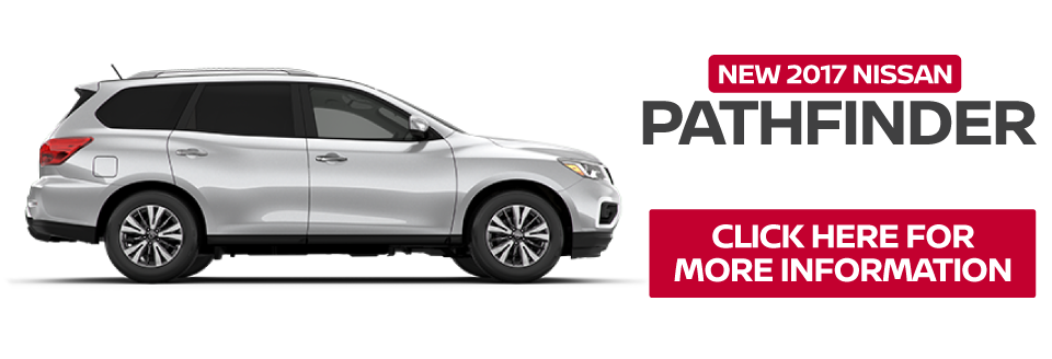 New 2016 Nissan Pathfinder. Click here to take advantage of this offer.