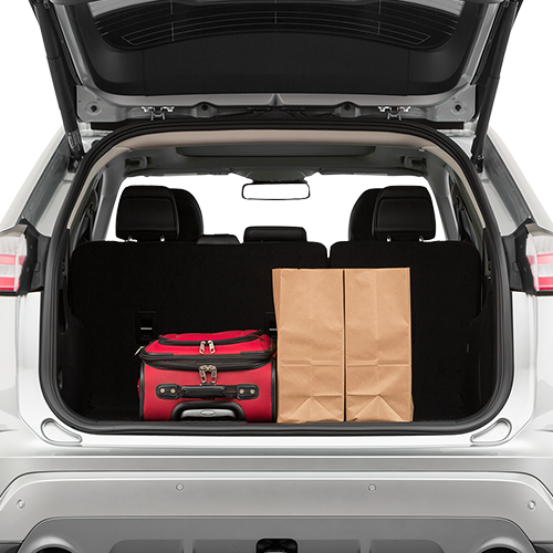 Ford Edge Trunk space