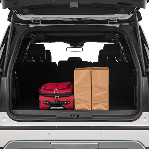 Ford Expedition Trunk space