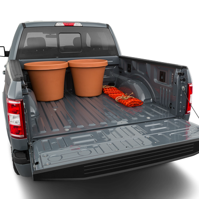 Ford F-150 Trunk space