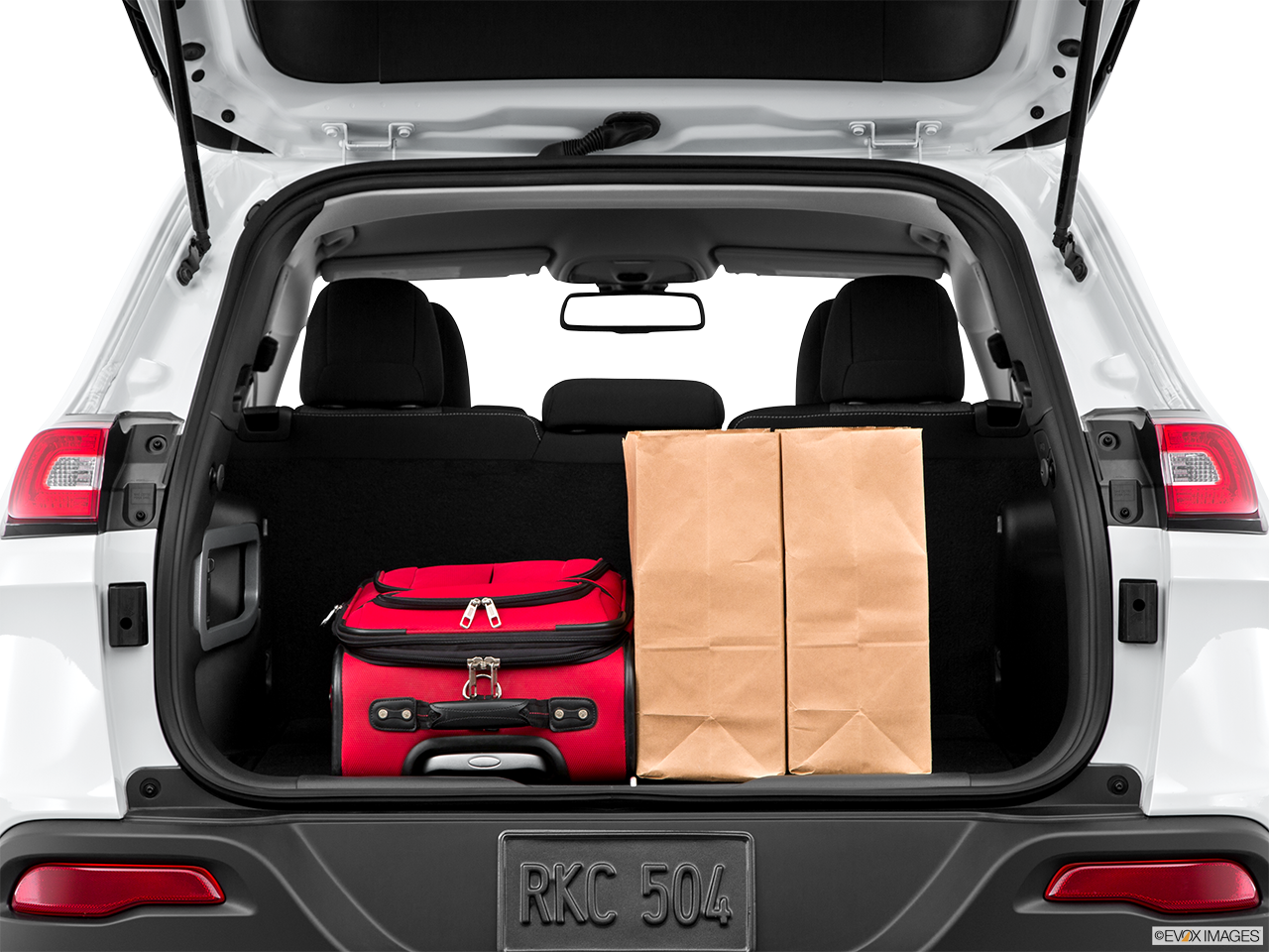 Jeep Cherokee Trunk space