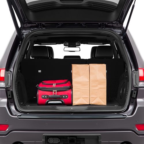Jeep Grand Cherokee Trunk space