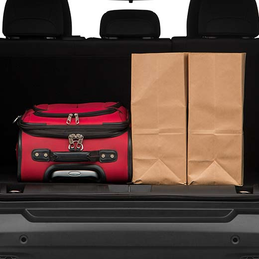 Jeep Renegade Trunk space
