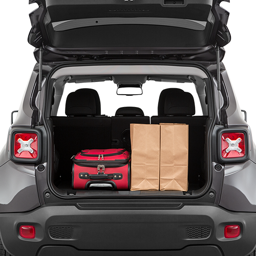 2019 Jeep Renegade Kinston, NC Cargo Space