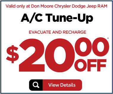Service Special - A/C Tune-Up Special - $20 off