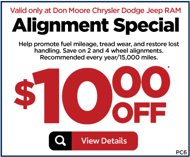 Service Special - Alignment Special - $10 off