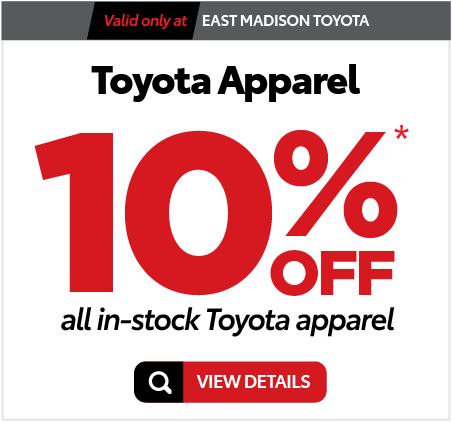 Parts Specials at East Madison Toyota - Click here to see offer