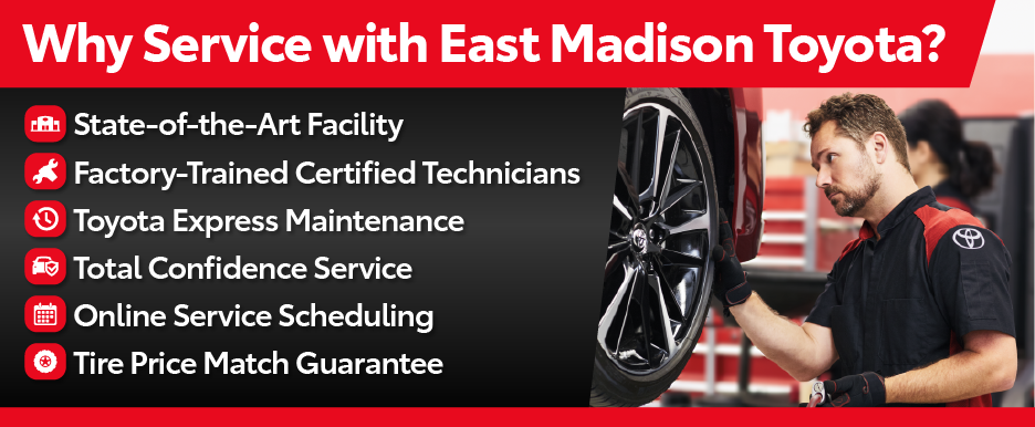 Touch Free Service at East Madison Toyota - Click here to find out more