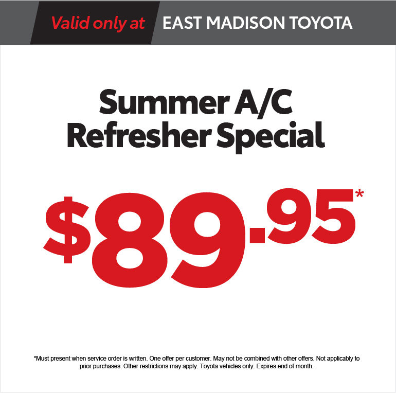 Summer A/C Refresher Speciail - $89.95