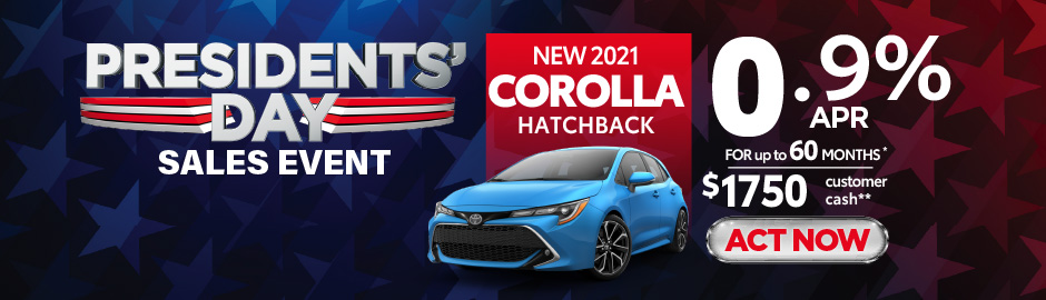 check out the Corolla offer at east madison toyota 0.9% APR - Click here to view inventory
