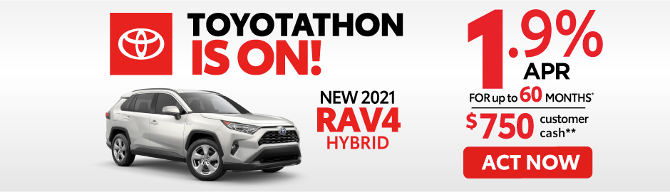 check out the RAV4 offer at east madison toyota 0% APR for 60 months - click here to view inventory