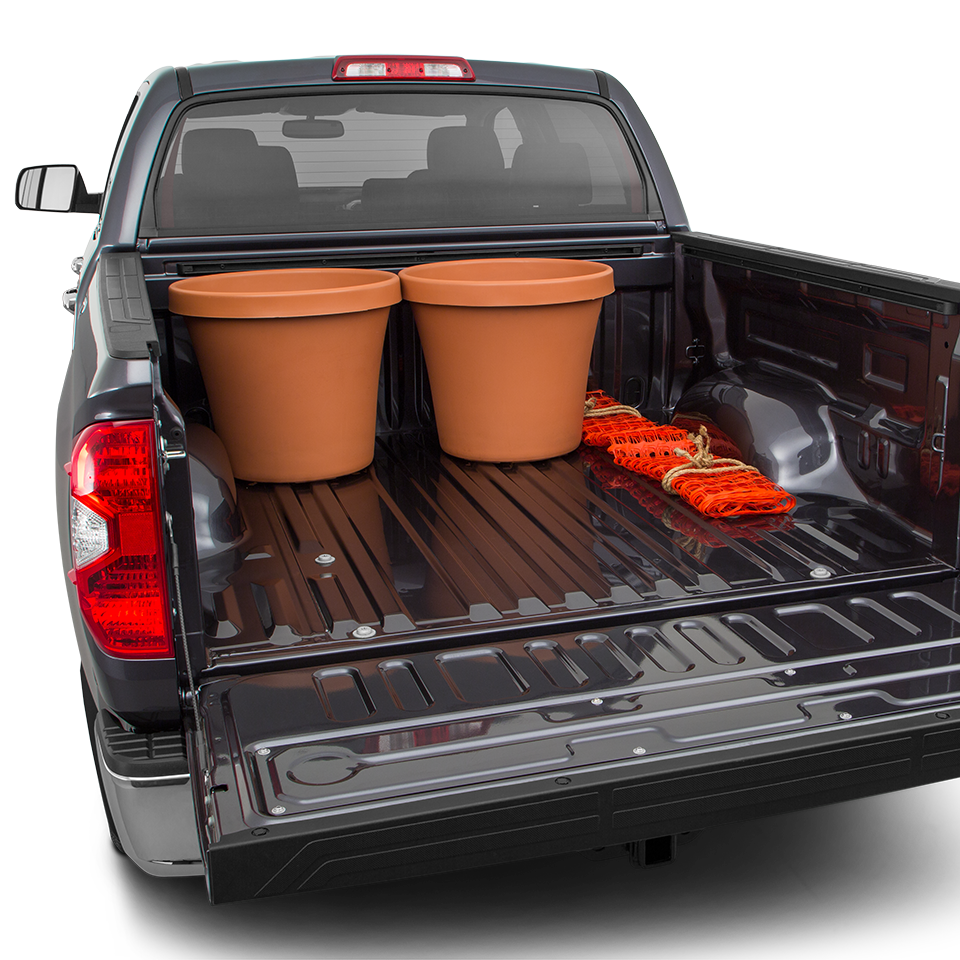 2017 Toyota Tundra Trunk Space