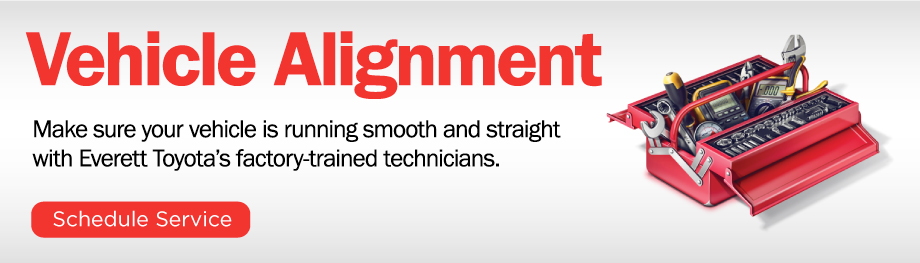 Everett Toyota of Mt. Pleasant's Vehicle Alignment