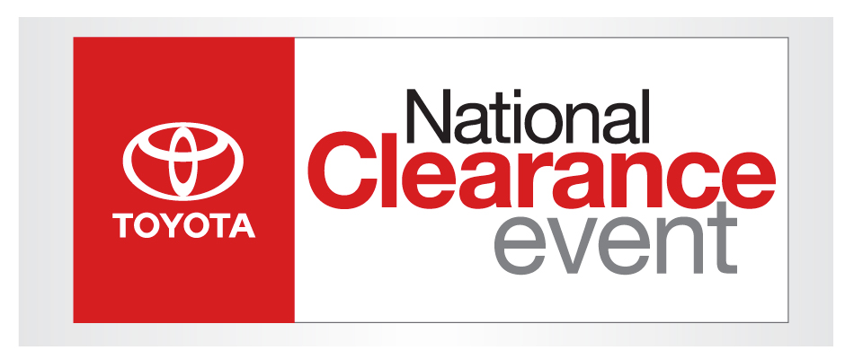 Toyota Annual Clearance Lease Specials