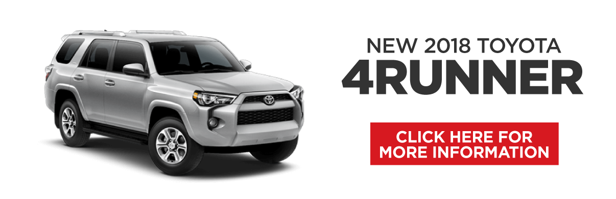 4Runner Special. Click Here to Get This Offer.