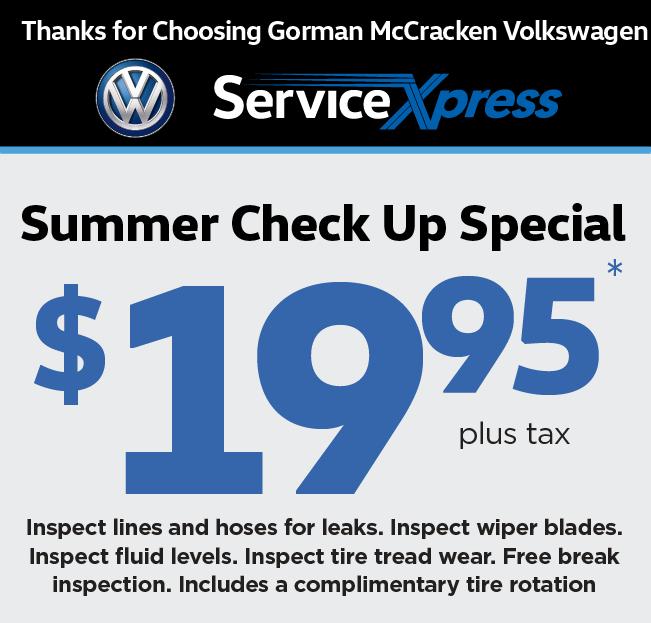 Longview Texas Volkswagen Dealership | Gorman McCracken Volkswagen
