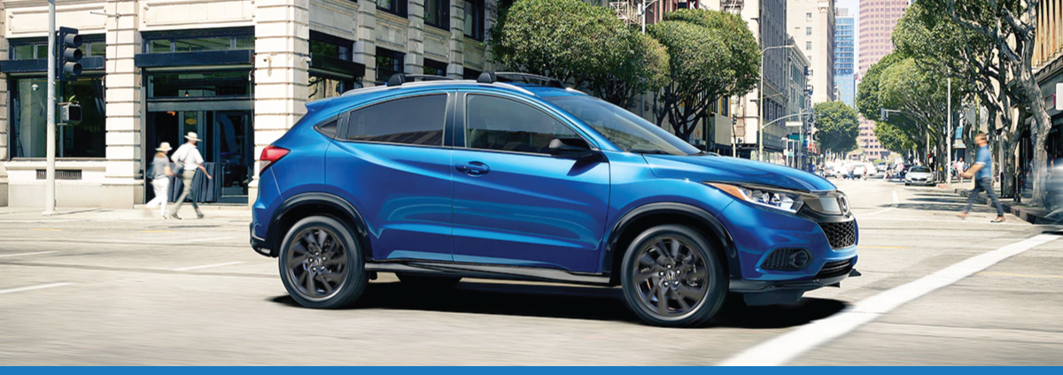 New 2021 Honda HR-V at Garden State Honda