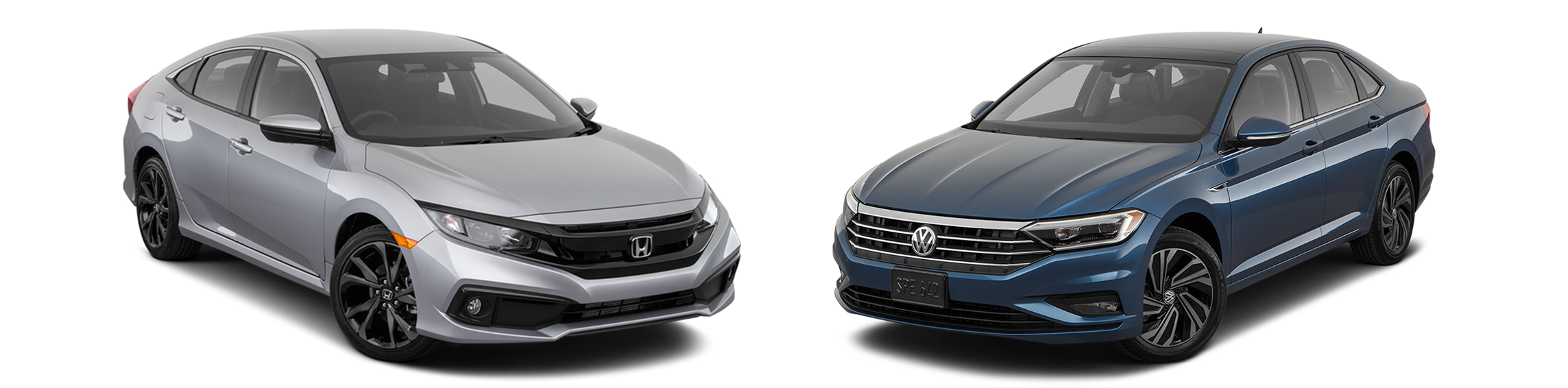 2019 Honda Civic vs. 2019 Wolkswagen Jetta