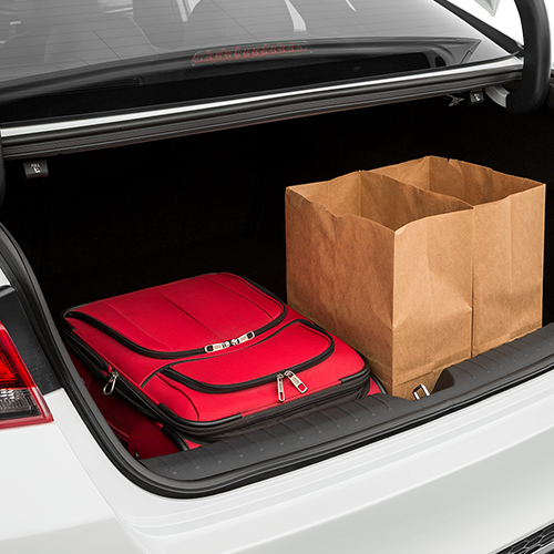 2019 Kia Optima Trunk Space