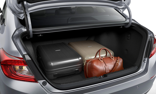 2021 Accord Trunk space