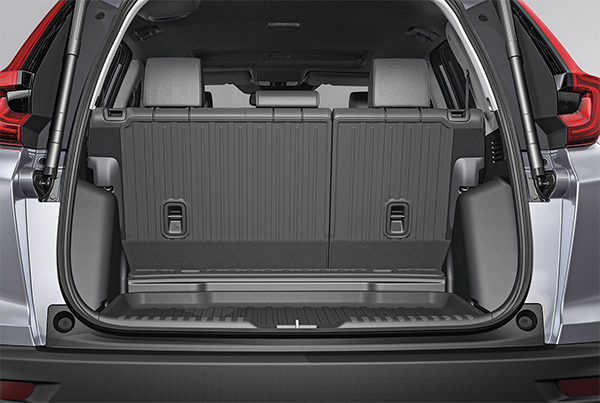 2021 CR-V Trunk space