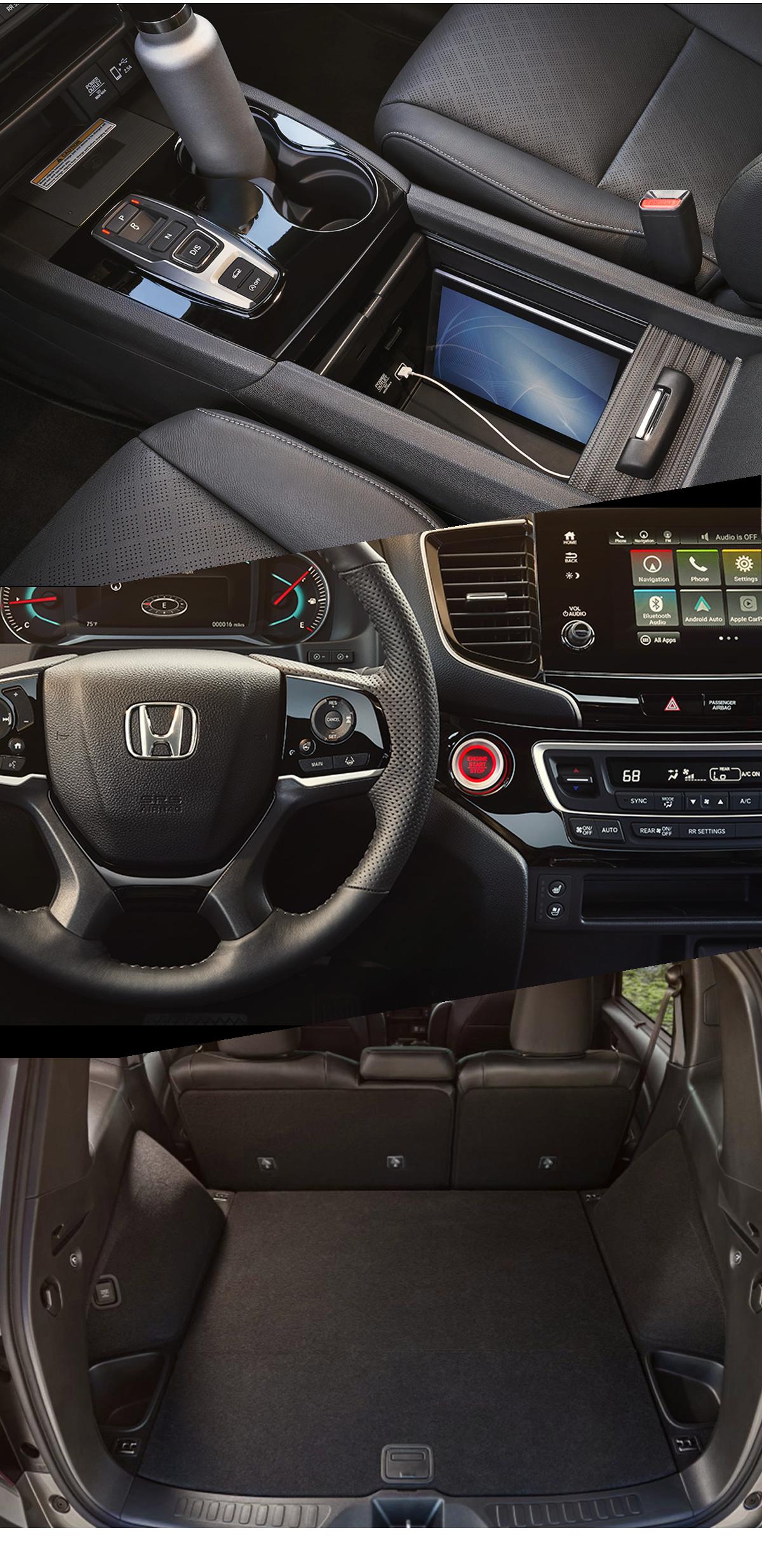 2021 Honda Passport Interior Images