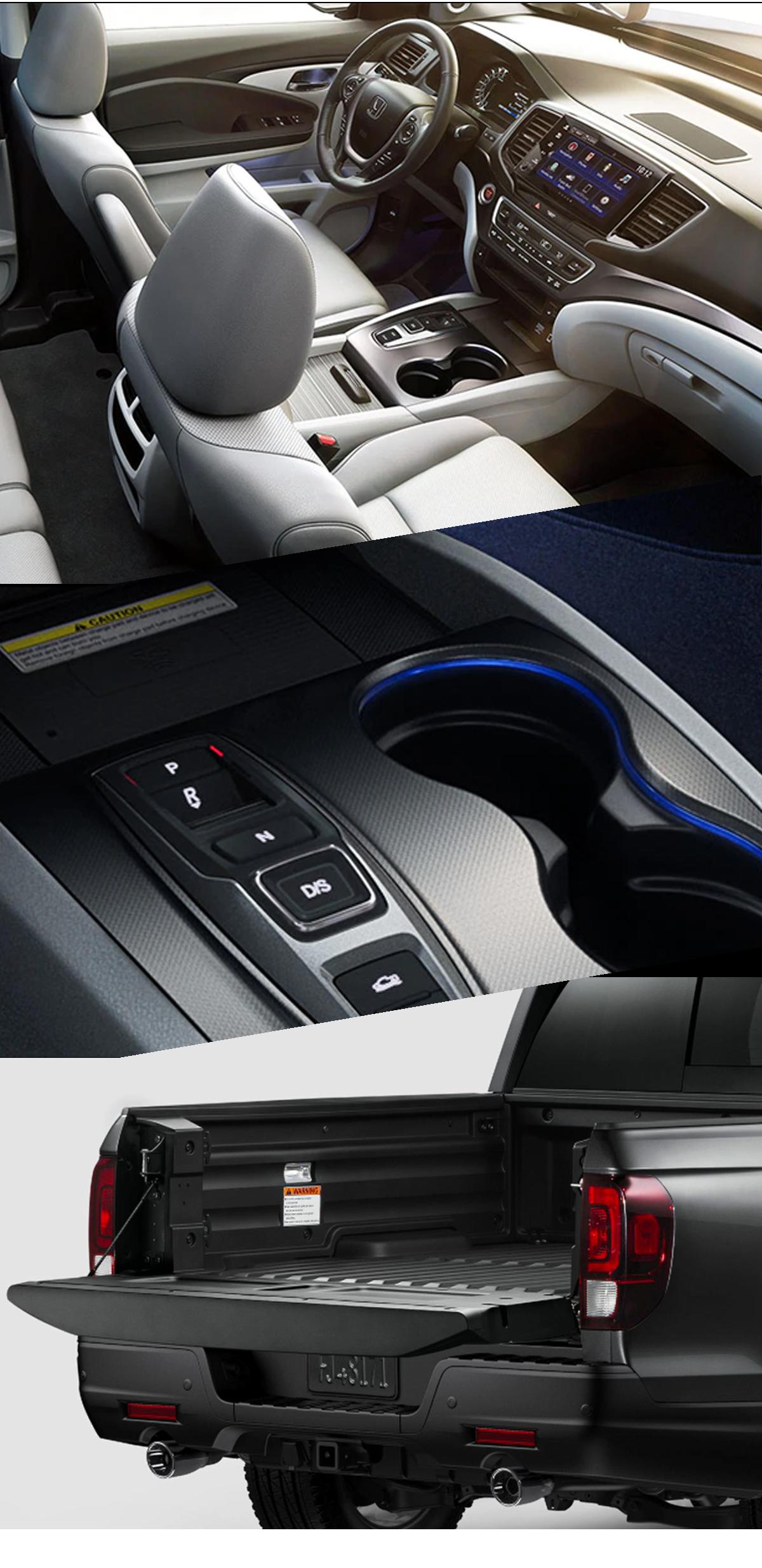 2021 Honda Ridgeline Interior Images