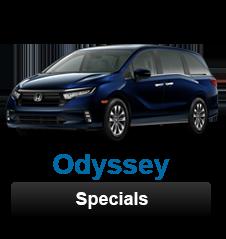 Honda Odyssey Specials