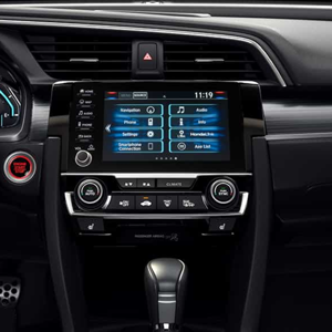 Honda Civic Technology Console