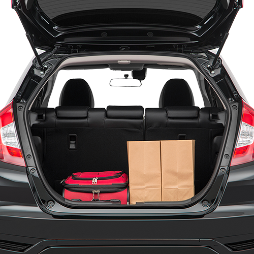 Honda Fit Trunk space