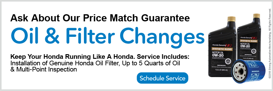 Honda Oil Change In Everett, MA