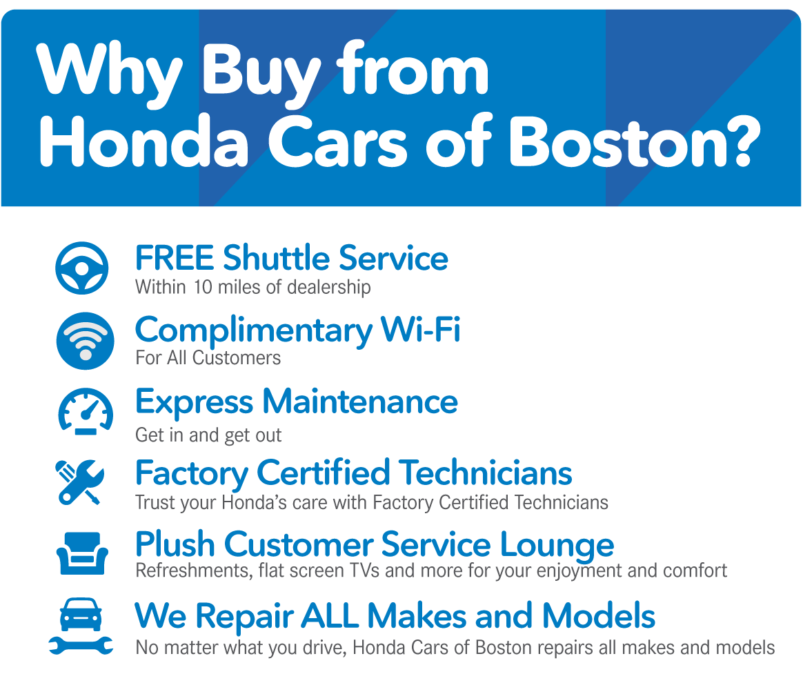 Why buy from Honda Cars of Boston?