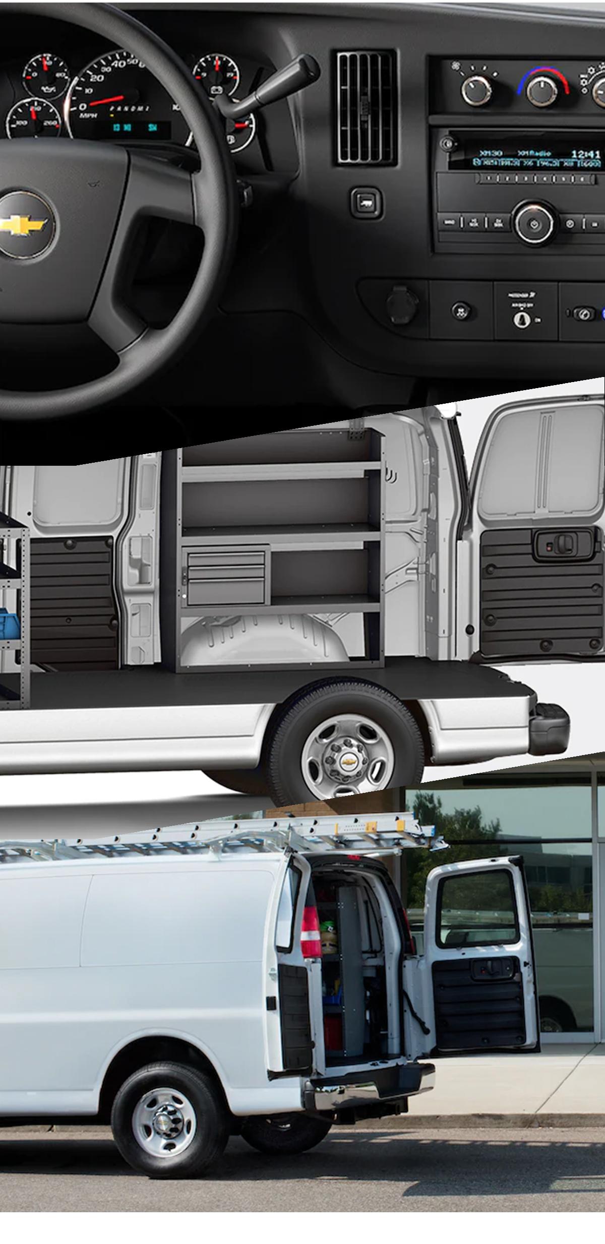 2021 Chevy Express Van Interior