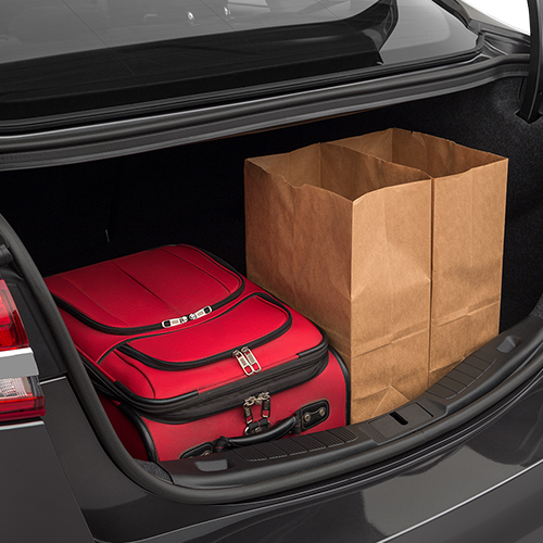 2019 Ford Fusion Cargo Space