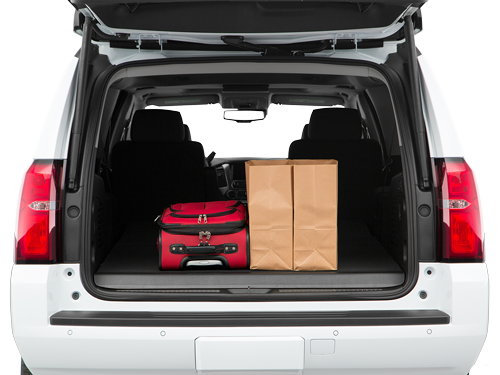 2019 Chevy Suburban Trunk space