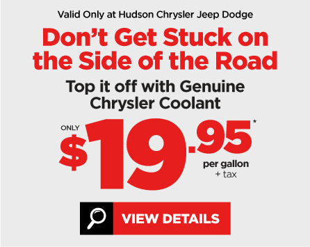 Chrysler Genuine Coolant Special - View Details