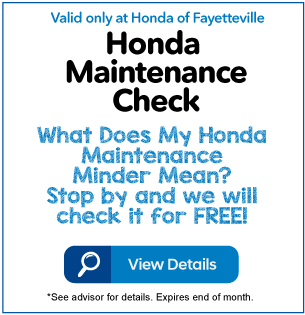 Honda Maintenance Check