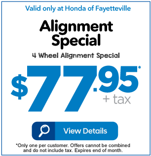 Alignment Special $77.95 +tax