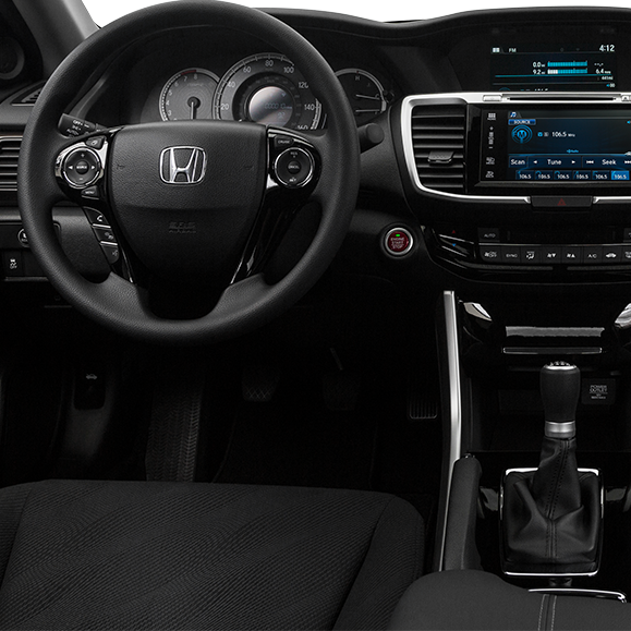 Interior Features Of The 2017 Honda Accord