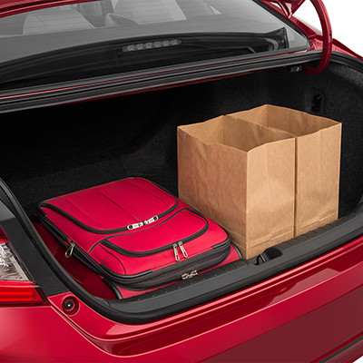 Honda Accord Trunk space
