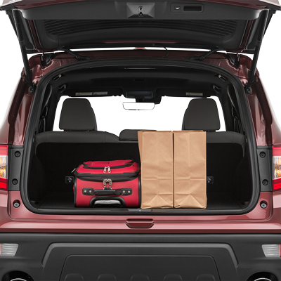 2019 Honda Passport Trunk space