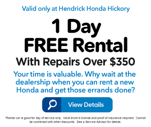 1 Day FREE Rental with Repairs over $350 - Click to View Details
