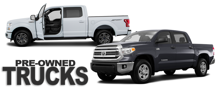 Click to Shop Used Trucks