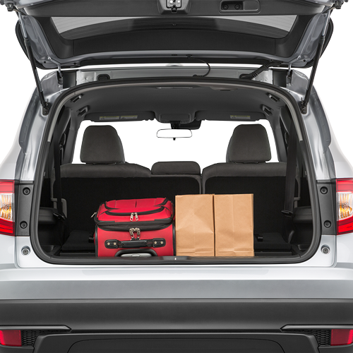 Honda Pilot Trunk Space